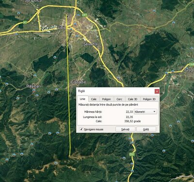 Baofeng UV-5R and Baofeng 888S at 22km distance.jpg